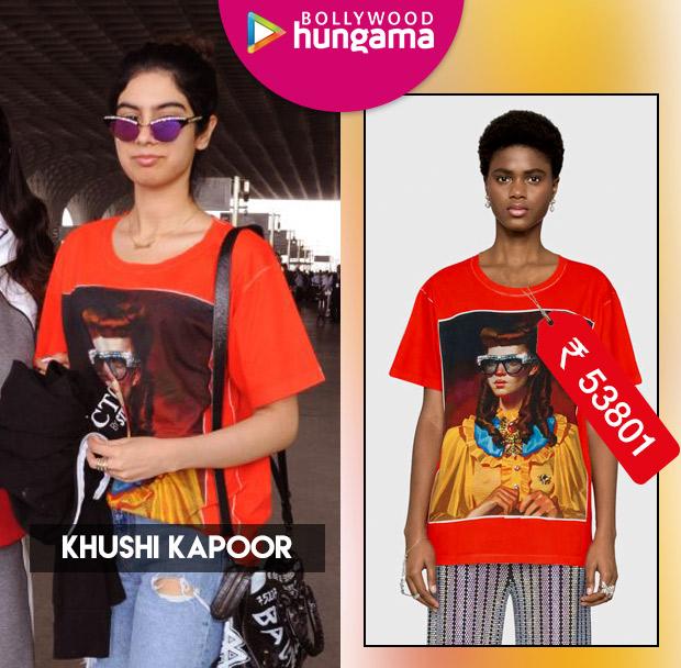 Weekly Celeb Splurges: Khushi Kapoor in Gucci