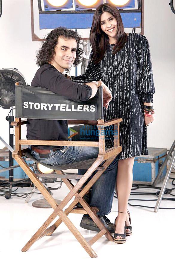 On The Set Of Movie Laila Majnu
