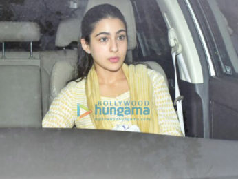 Sara Ali Khan, Harshvardhan Kapoor and others snapped at Anil Kapoor's residence