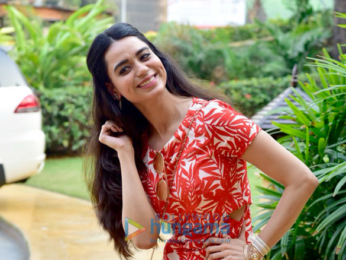 Saundarya Sharma does a special photoshoot for Valentine's Day