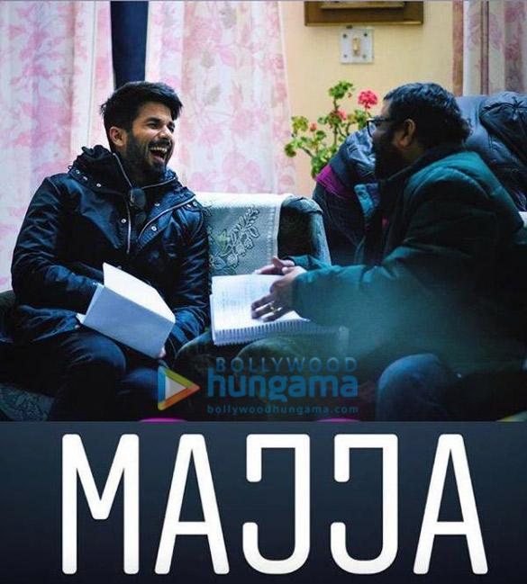 Shahid Kapoor begins shooting for Batti Gul Meter Chalu in Uttarakhand