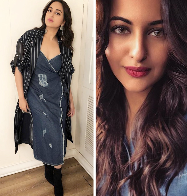 Sonakshi Sinha in IKAI by Ragini Ahuja for Welcome to New York Promotions