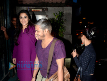 Vidya Balan snapped at Pali Village Cafe