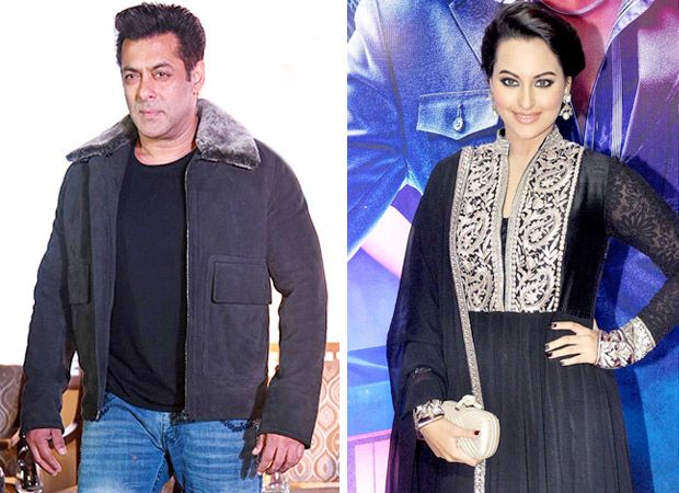 Salman Khan romances Sonakshi Sinha but it is not for Dabangg!