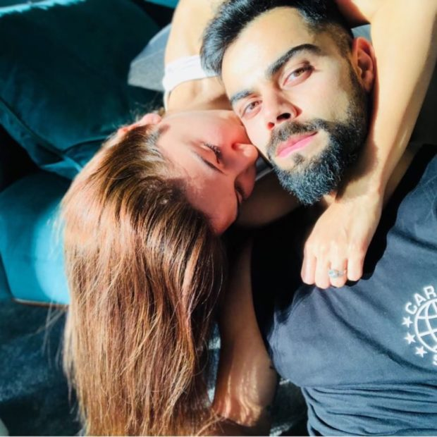 Anushka Sharma and Virat Kohli's lovestruck pictures on a cozy Sunday are not to be missed