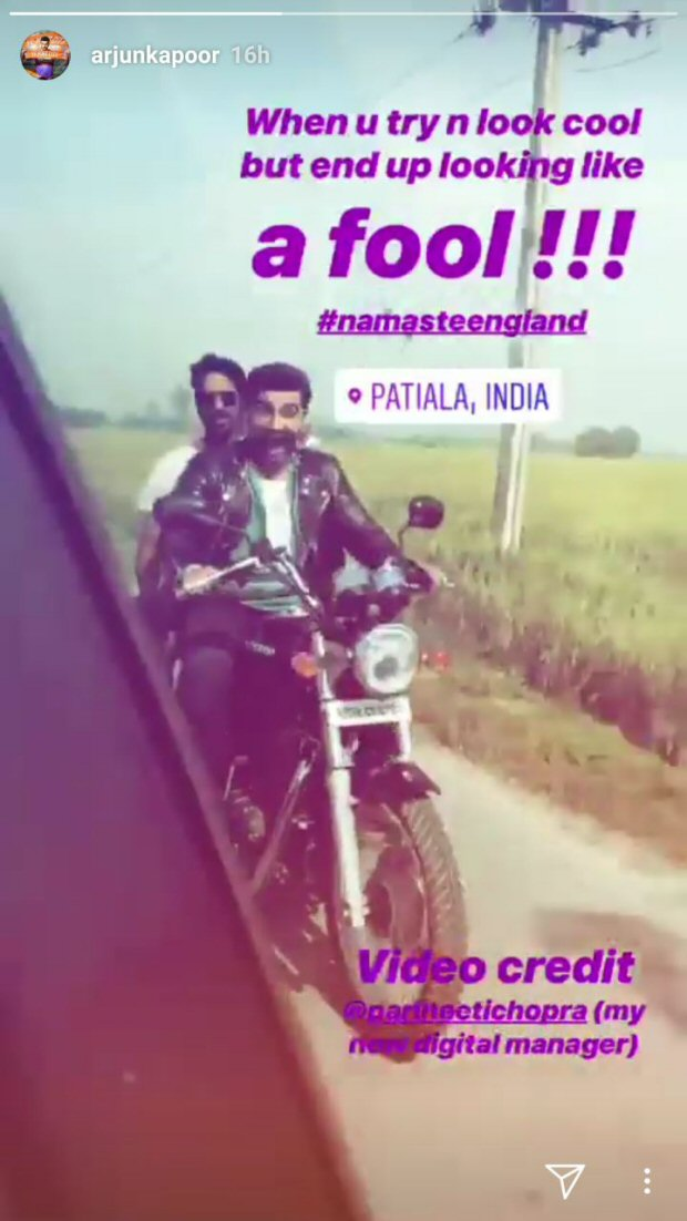 Arjun Kapoor- Parineeti Chopra starrer Namaste England says Namaste Punjab for their next schedule!