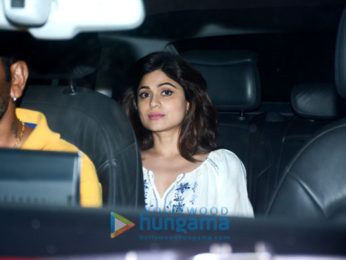 Celebs grace the special screening of 'Hichki' at YRF Studios