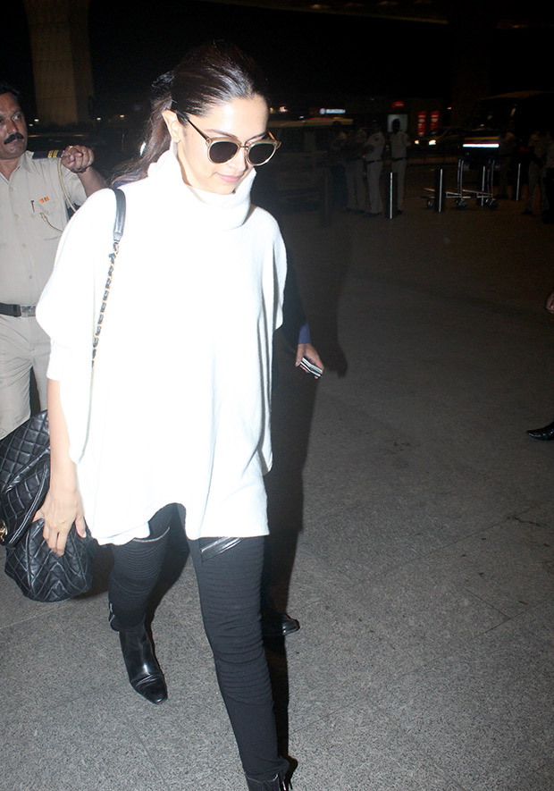 Deepika Padukone and her fuss-free monochrome travel look