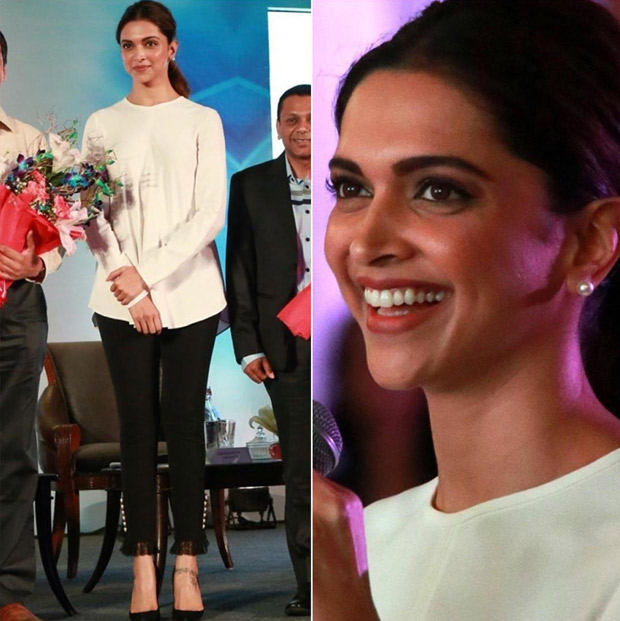 Deepika Padukone at The Live Love Laugh 2018 National Survey Report How India Perceives Mental Health