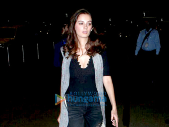 Evelyn Sharma snapped in Mumbai