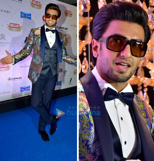 Hello! Hall Of Fame Awards 2018 - Ranveer Singh