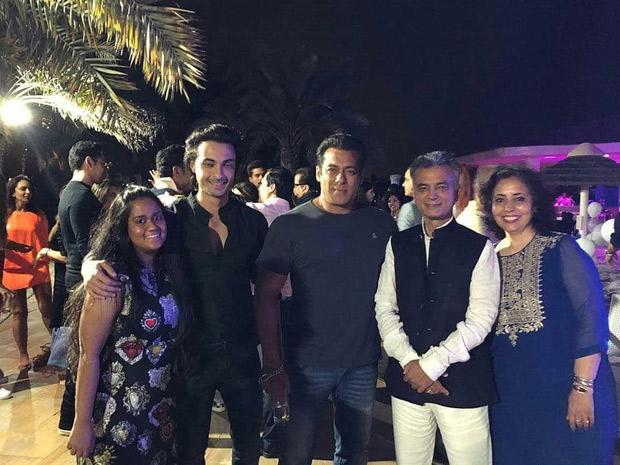 INSIDE PICS & VIDEOS: Salman Khan celebrates Arpita Khan- Aayush Sharma's son Ahil Sharma's 2nd birthday in Abu Dhabi