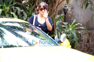 Ileana D'Cruz spotted after her dance class