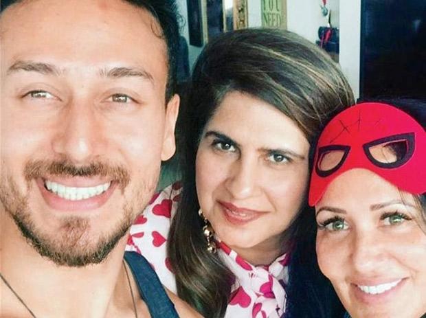 Inside pics: Here's how Tiger Shroff celebrated his birthday with mom Ayesha and rumoured girlfriend Disha Patani