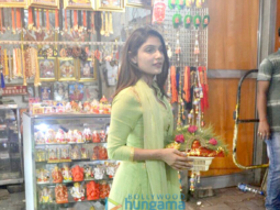 Ishita Raj Sharma visits Siddhivinayak temple after Sonu Ke Titu Ki Sweety's success