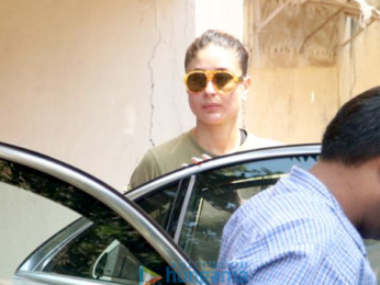 Kareena Kapoor Khan spotted after her gym session in Bandra
