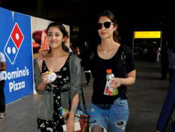 Kriti Kharbanda, Kriti Sanon and others snapped at the airport