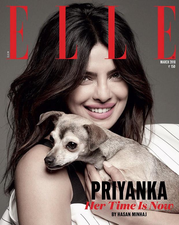 Priyanka Chopra and Diana Chopra strike a pose for Elle India