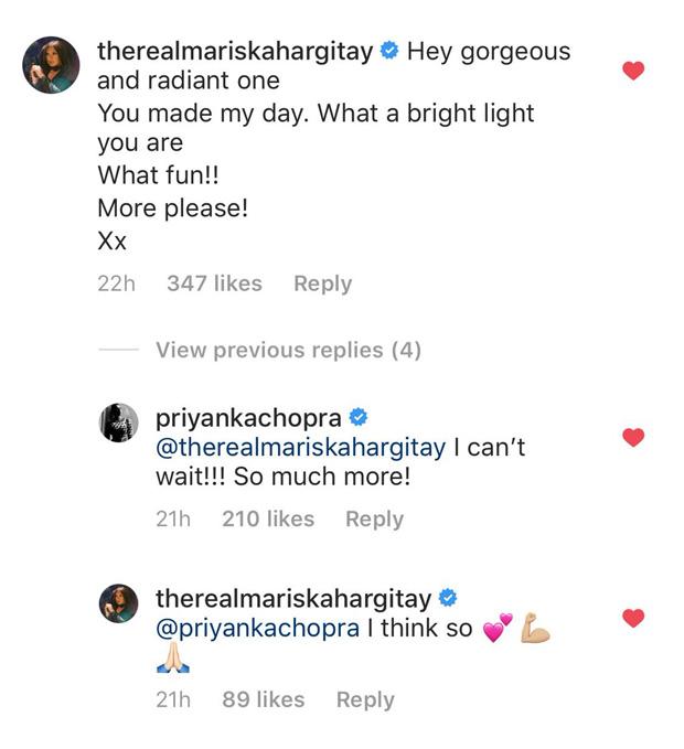 Priyanka Chopra has a fangirl moment with Law & Order: Special Victims Unit star Mariska Hargitay