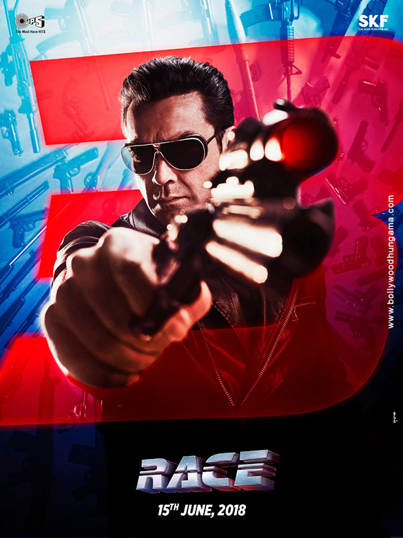 RACE 3 (2018) con SALMAN KHAN + Jukebox + Mashup + Sub. Español + Online Race-3-3