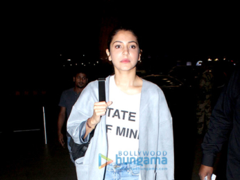Rani Mukerji, Anushka Sharma and others snapped at the airport
