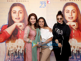 Rani Mukerji hosts a special screening of Hichki at YRF Studios