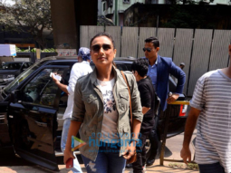 Rani Mukerji snapped promoting her film Hichki