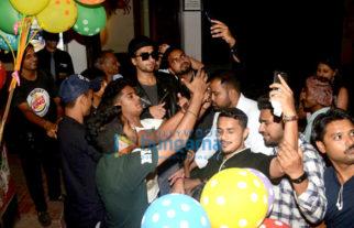 Ranveer Singh snapped at Bastian in Bandra