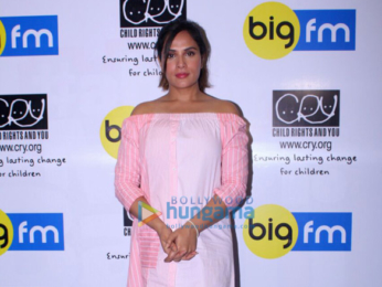 Richa Chadda snapped attending the CRY event