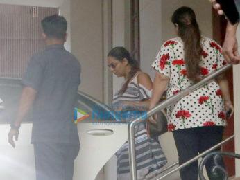 Shah Rukh Khan and Gauri Khan snapped attending Anu Dewan's kids birthday bash