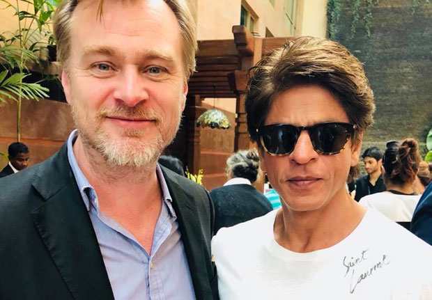 Shah Rukh Khan has a fanboy moment meeting ace filmmaker Christopher Nolan