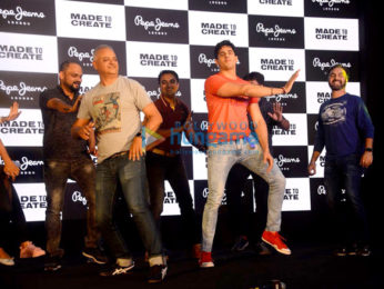 Sidharth Malhotra snapped at the launch of new collection of Pepe Jeans