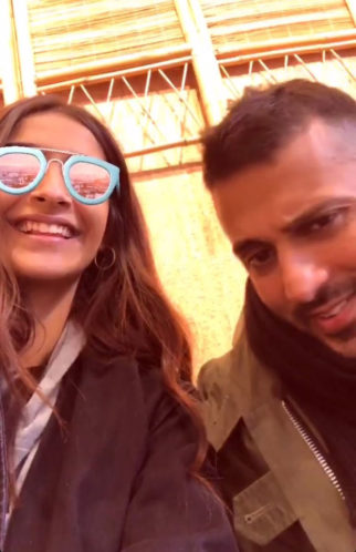 Sonam Kapoor and Anand Ahuja give a sneak-peek into their coffee date