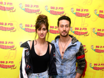 Tiger Shroff and Disha Patani promote Baaghi 2 at 98.3 FM Radio Mirchi