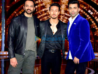 Tiger Shroff snapped on the sets of India's Next Superstar