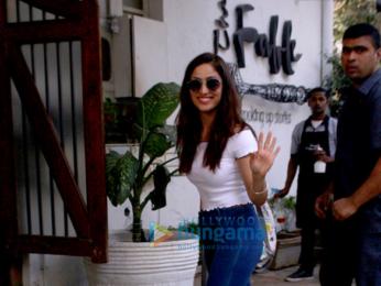 Yami Gautam and Huma Qureshi snapped in Mumbai