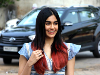 Adah Sharma snapped at Rang Sharda