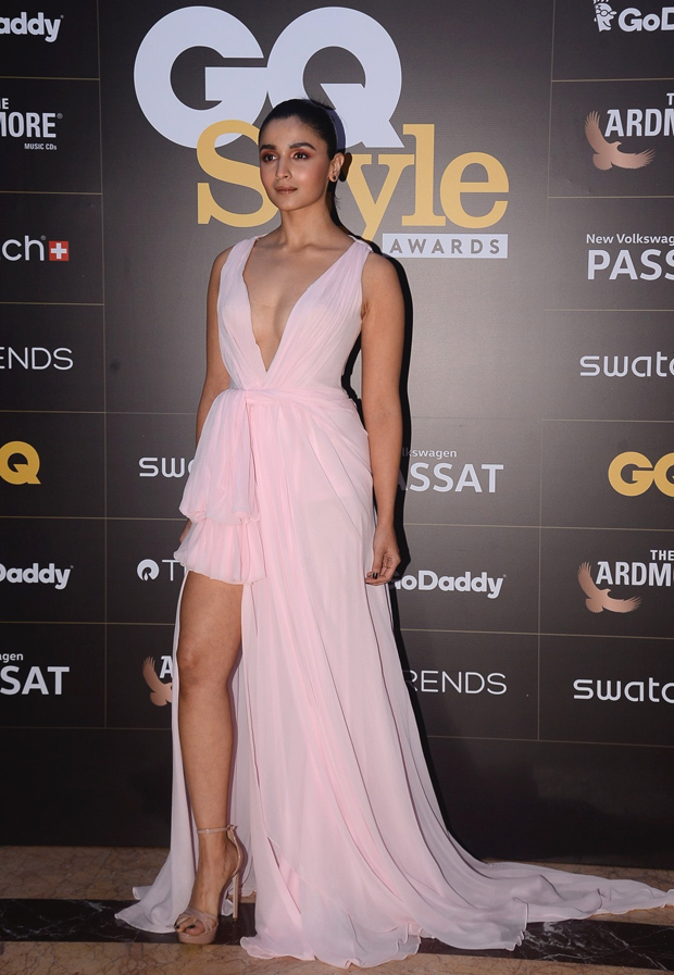 Alia Bhatt at GQ Style Awards 2018 wearing Nedret Taciroglu
