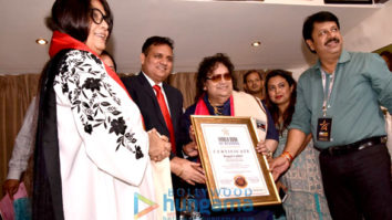 Bappi Lahiri celebrates his entry into a records book