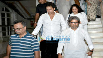 Celebs attend Vishal Bhardwaj's late mother's prayer meeting
