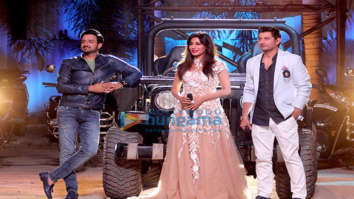 Chitrangda Singh, Siddharth Anand and Marzi Pestonji snapped on sets of DID Li'l Masters Season 4