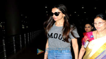 Deepika Padukone, Anushka Sharma, Neha Dhupia and others snapped at the airport