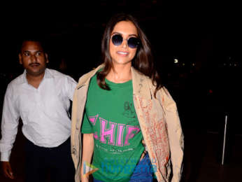 Deepika Padukone, Arjun Kapoor, Ranbir Kapoor and Abhishek Bachchan snapped at the airport