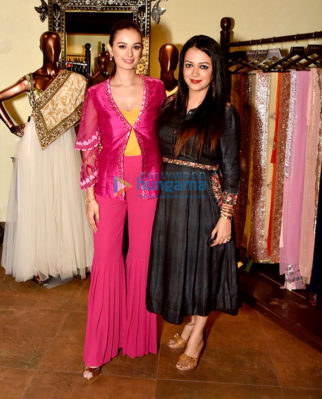 Evelyn Sharma snapped at Seams For Dreams boutique