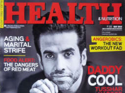 Tusshar Kapoor On The Cover Of Health & Nutrition, May 2018