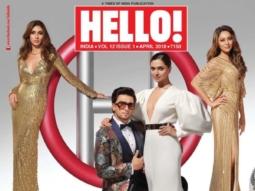 Shweta Bachchan, Ranveer Singh, Deepika Padukone, Gauri Khan On The Covers Of Hello!
