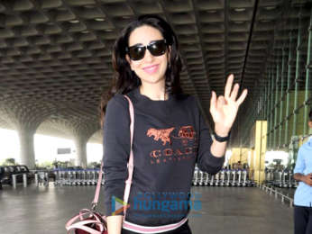 Karisma Kapoor, Manish Malhotra and others snapped at the airport