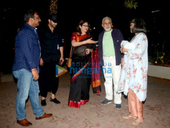 Naseeruddin Shah snapped with wife at BKC