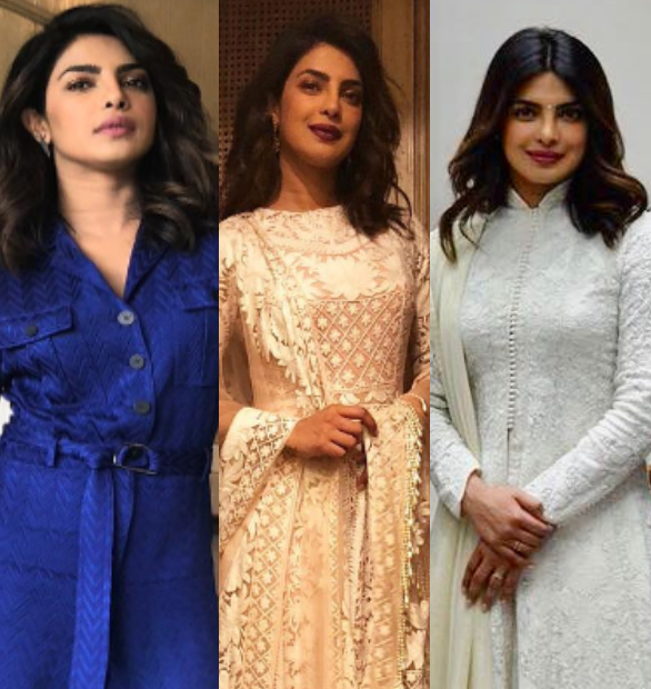 Priyanka Chopra flits styles on her short India trip
