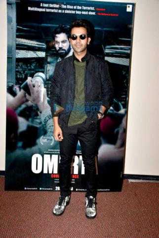 Rajkummar Rao snapped promoting his film Omerta